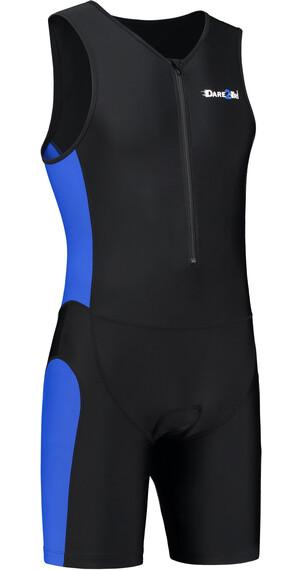 Dare2Tri Frontzip Trisuit Abbigliamento triathlon Uomo blu/nero